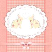 . easter bunny — Stock Vector