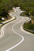 Tortuous road — Stock Photo