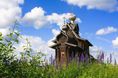 Ancient wooden Church of Transfiguration — Stock Photo