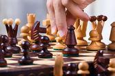 Mecz szachowy — Zdjęcie stockowe