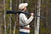 Jagd auf Niederwild — Stockfoto