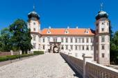 Mnisek pod Brdy castle, Czech republic — Stock Photo
