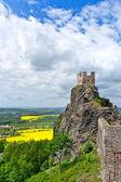Trosky castle, Bohemian Paradiese region, Czech republic, Europe — Stock Photo