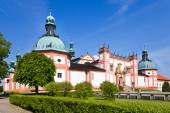 Baroque pilgrimage place Svata Hora (Holly Hill), town Pribram, Central Bohemia, Czech republic — Stock Photo