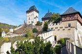 Medieval royal gothic castle Karlstejn near Prague, Czech republic — Stock Photo