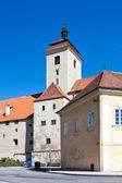 Gothic medieval castle Strakonice, South Bohemia, Czech republic — Stock Photo