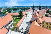 Telc town, Vysocina region, Czech republic — Stock Photo