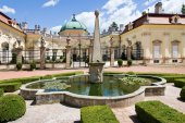 Baroque castle Buchlovice, Moravia, Czech republic, Europe — Fotografia Stock