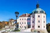 Medieval castle Becov nad Teplou, Czech republic — Stock Photo