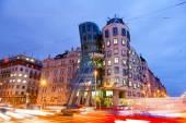 Dancing House, New Town, Prague, Czech republic — Stock Photo
