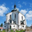 Church of St. John of Nepomuk, Zelena Hora, UNESCO,Zdar nad Sazavou, Czech republic — Stock Photo #61188065