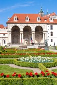 Wallenstein garden and palace, Lesser town, (UNESCO), Prague, Cz — Stock Photo