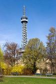 Observation tower Petrin, Prague, Czech republic — Foto de Stock