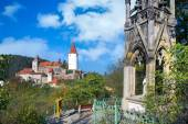 Medieval royal gothic castle Krivoklat, Central Bohemia, Czech r — Stock Photo
