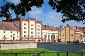 Brewery, Trebon, South Bohemia, Czech republic — Stock Photo