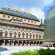 Renaissance National theatre from 1883 (arch. Josef Zitek), Prag — Stock Photo #72003977