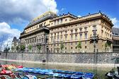 Renaissance National theatre from 1883 (arch. Josef Zitek), Prag — Stock Photo