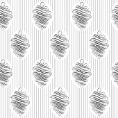 Vintage wallpaper. Delicate veil-like pattern. — Stock Vector