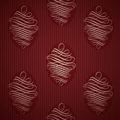 Seamless ornamental wallpaper, floral pattern, illustration — Stock Vector