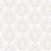 Luxury ornamental floral wallpaper — Stock Vector