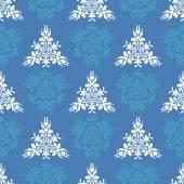 Seamless heraldic pastel pattern with blazon — Stock Vector