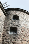 Old tower with loopholes — Stockfoto