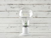 One Light bulb — Stock Photo