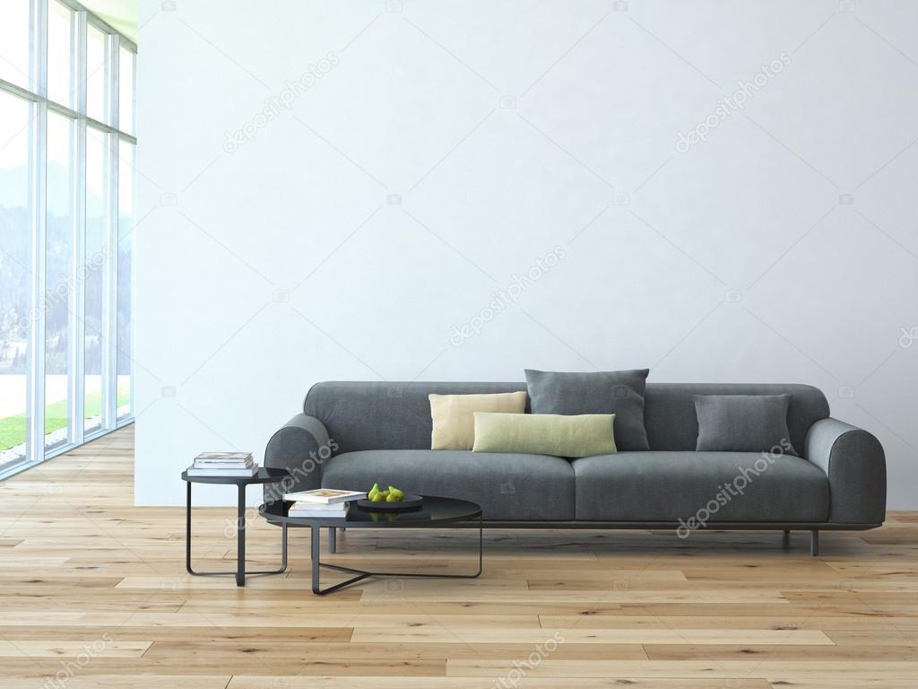 현대 거실 다락방 인테리어 — 스톡 사진 © 2mmedia #61632171