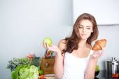 Diet. Dieting concept. Healthy Food. — Stock Photo
