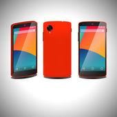 Two flat smartphone — Stock Vector