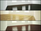 Samples of parquet floor — Stock Photo