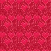 Modello di cuore — Vettoriale Stock