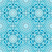 Oriental seamless mosaic pattern — Stock Vector