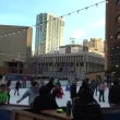Ice skating rink full of people — Stock Video #65179521