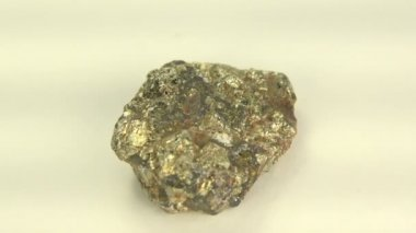 Iron ore pyrite — Stock Video