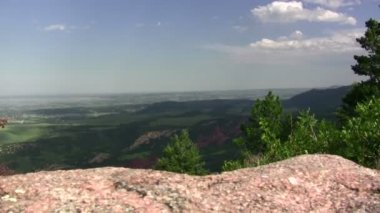 Red Rocks Formation Hogback — Stock Video