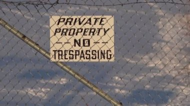 Private Property Causes Air and Water Pollution — Stock Video