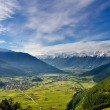 Spectacular alpine mountain view — Stockfoto #58412993
