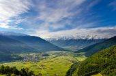 Spectacular alpine mountain view — Stock Photo