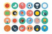 Sports Flat Icons - Vol 1 — Stock Vector