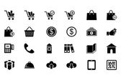 Shopping Vector Icons 1 — Stock Vector