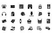 Shopping Vector Icons 5 — Stock Vector