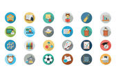 Education Vector Flat Icons 6 — Stockvektor