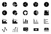 Finance Vector Solid Icons 11 — Stock Vector