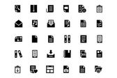 Documents Vector Icons 4 — Stock Vector