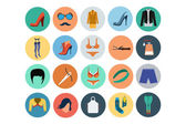 Fashion Flat Icons 5 — Stock Vector