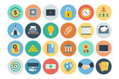 Office Flat Icons 5 — Stock Vector