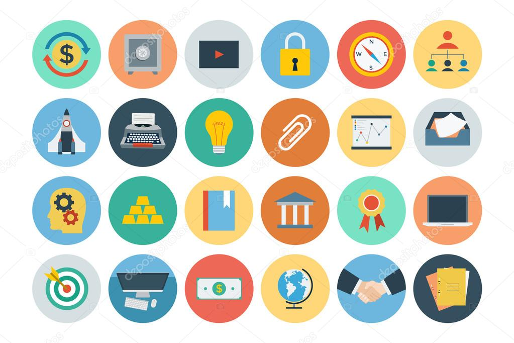 Office Flat Icons 5