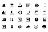 Online Marketing Vector Icons 6 — Stock Vector