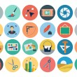 Flat Design Vector Icons 2 — Vector de stock  #76712055